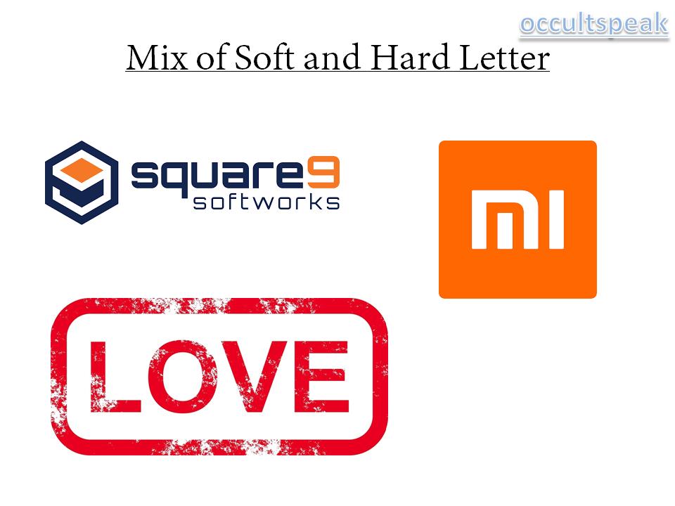 Mix of Soft and Hard Letter Logo - Logo Maker