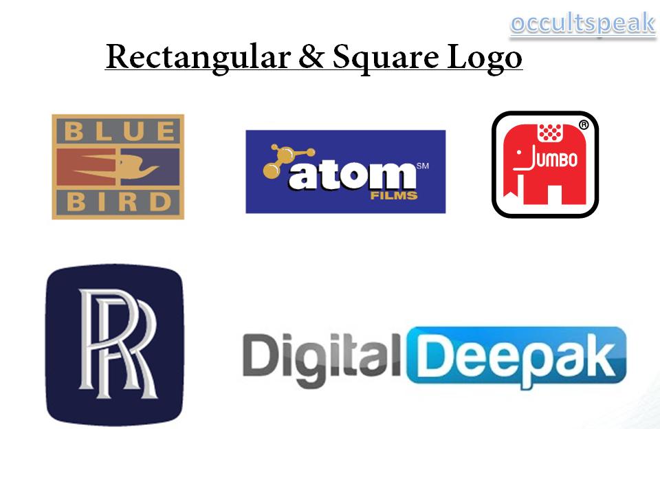 Rectangular Square shaped Logo -Logo Maker