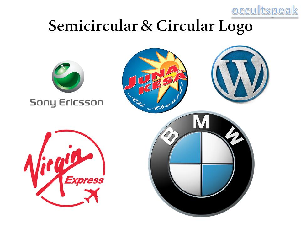 Semicircular and Circular Logo -Logo Maker