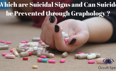 Which are Suicidal Signs and Can Suicide be Prevented through Graphology ?