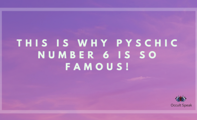 This Is Why Pyschic Number 6 Is So Famous!