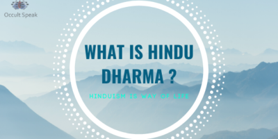 Hindu Or Hinduism is Not Religion But a Way of Life