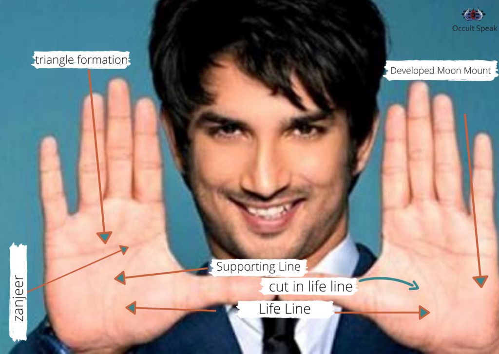 Palm Reading Analysis of Sushant Singh Rajput Why he Suicide?
